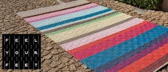 Portugiesische Teppiche aus gewebter Korkeiche